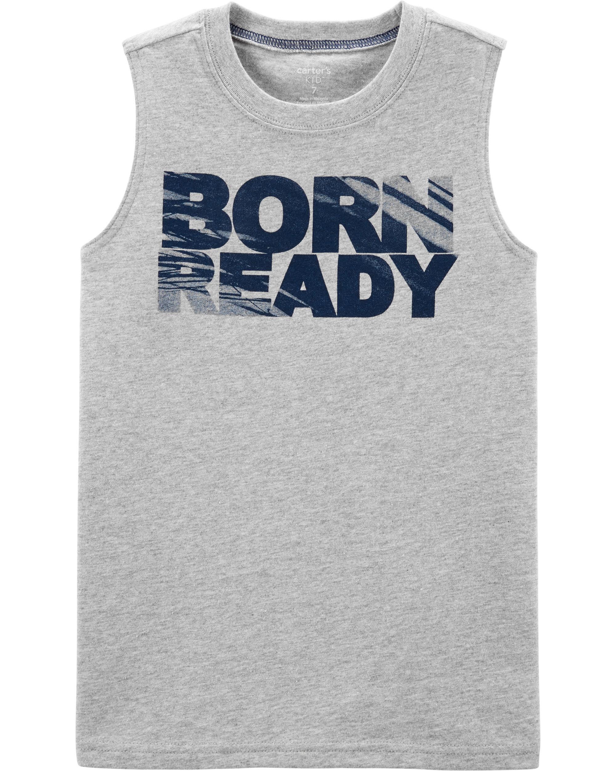 *Clearance*  Born Ready Jersey Tank