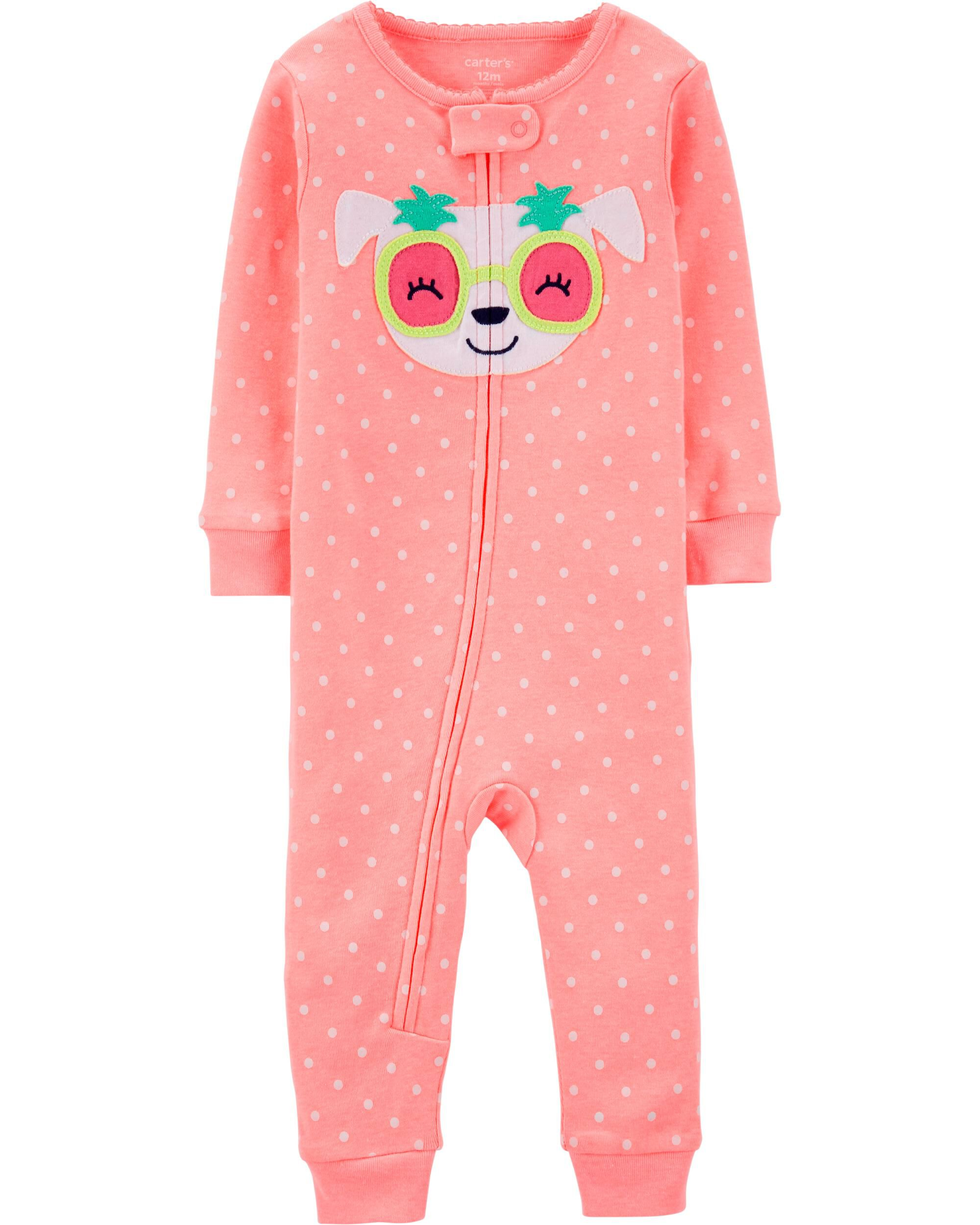 *Clearance*  1-Piece Neon Dog Snug Fit Cotton Fo...