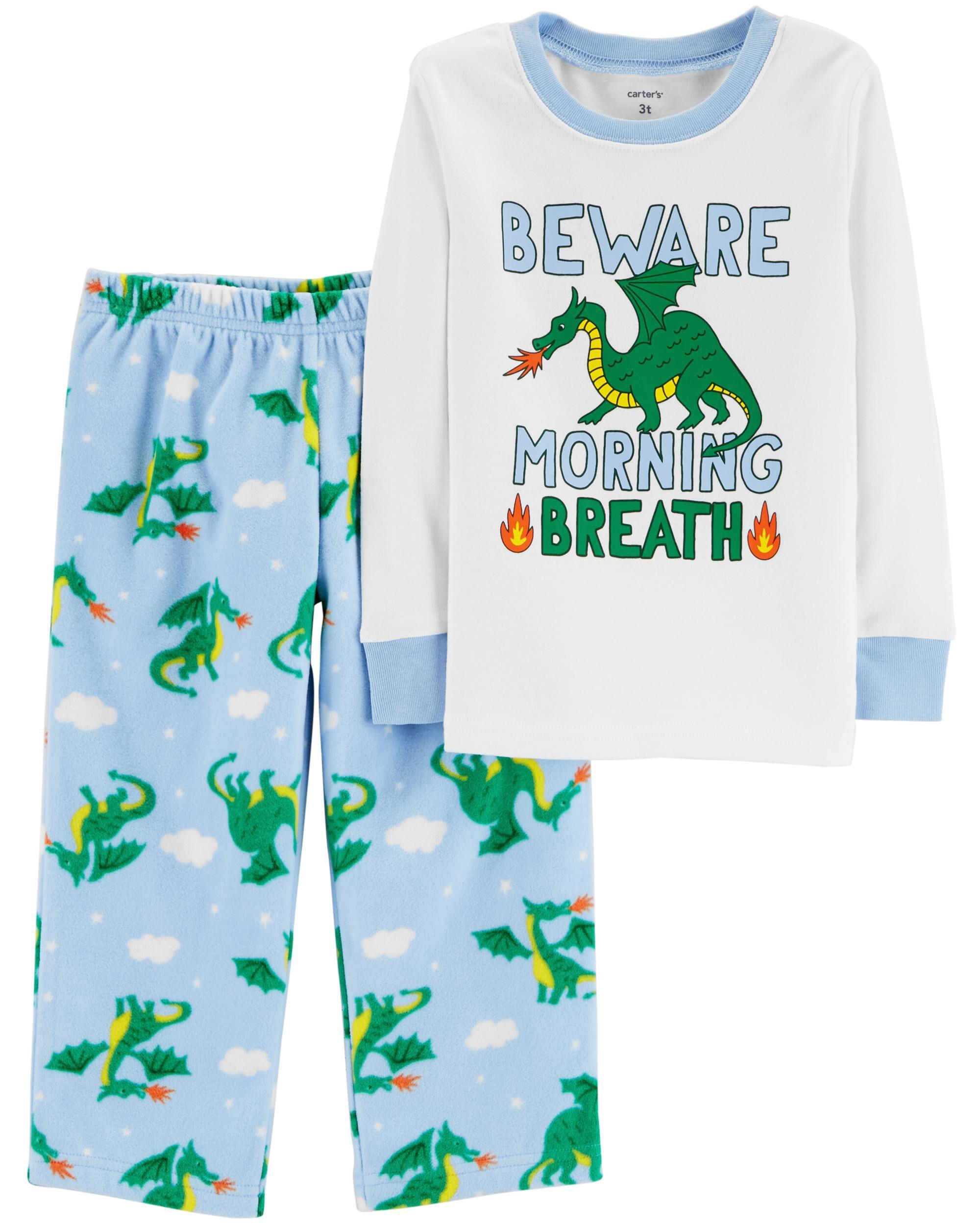 *Clearance*  2-Piece Dragon Snug Fit Cotton & Fl...