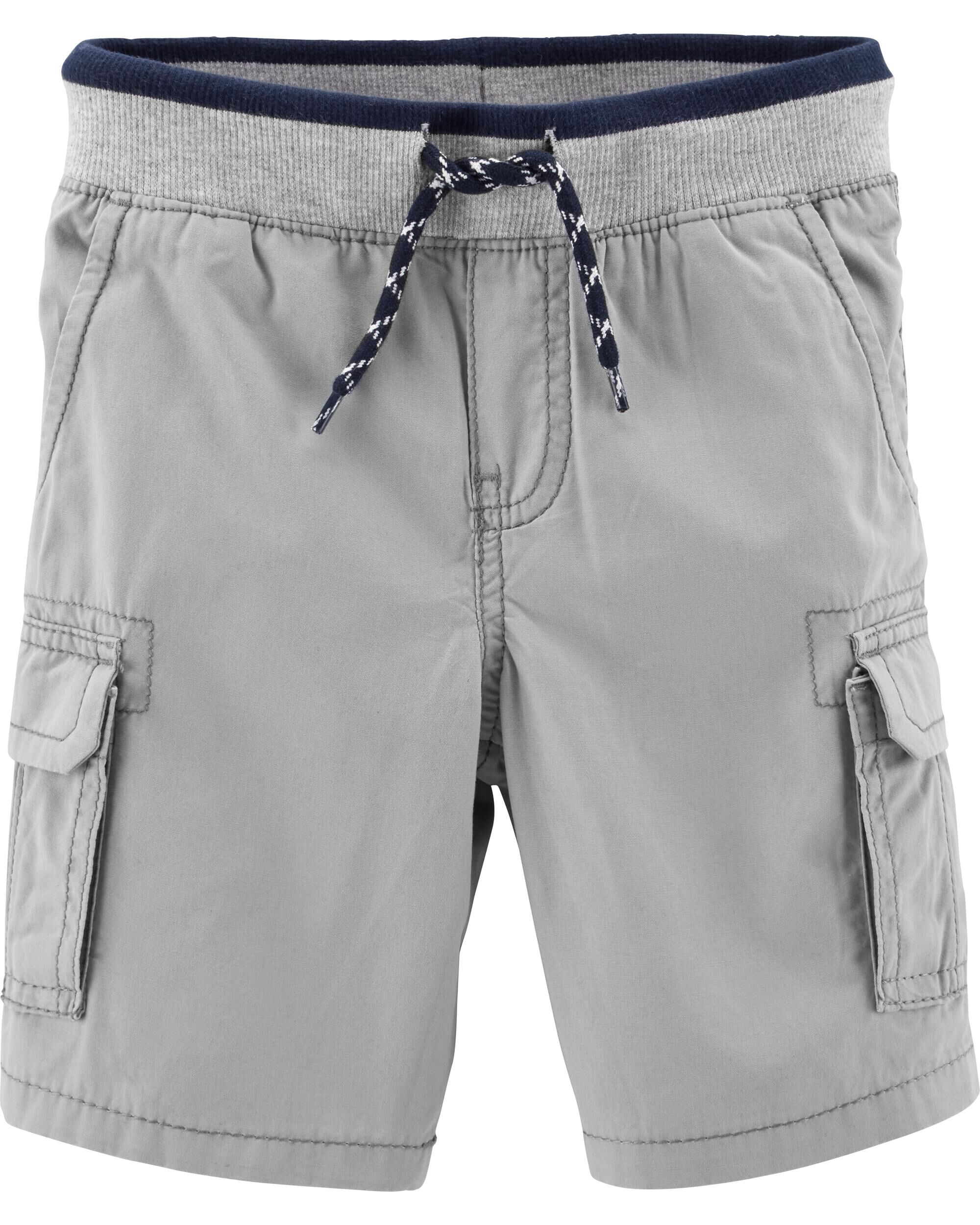 *Clearance*  Pull-On Poplin Shorts