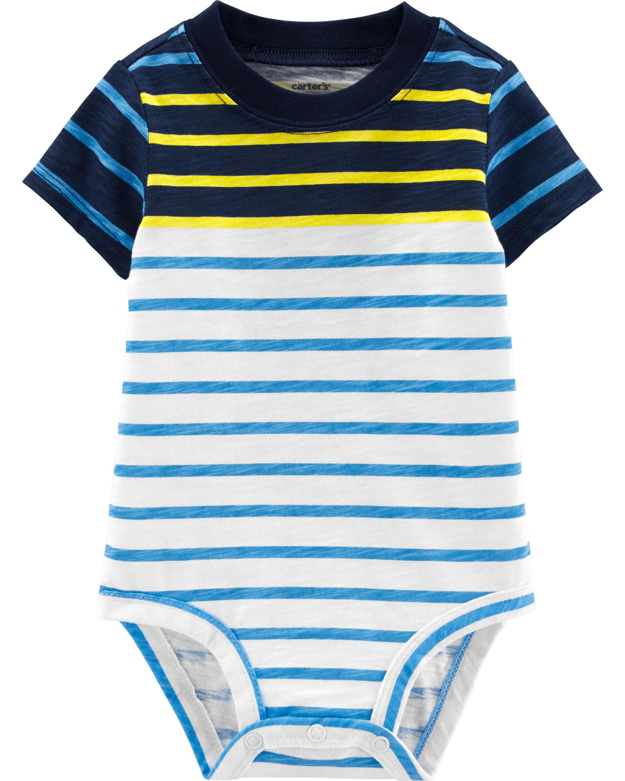 *Clearance*  Striped Collectible Bodysuit