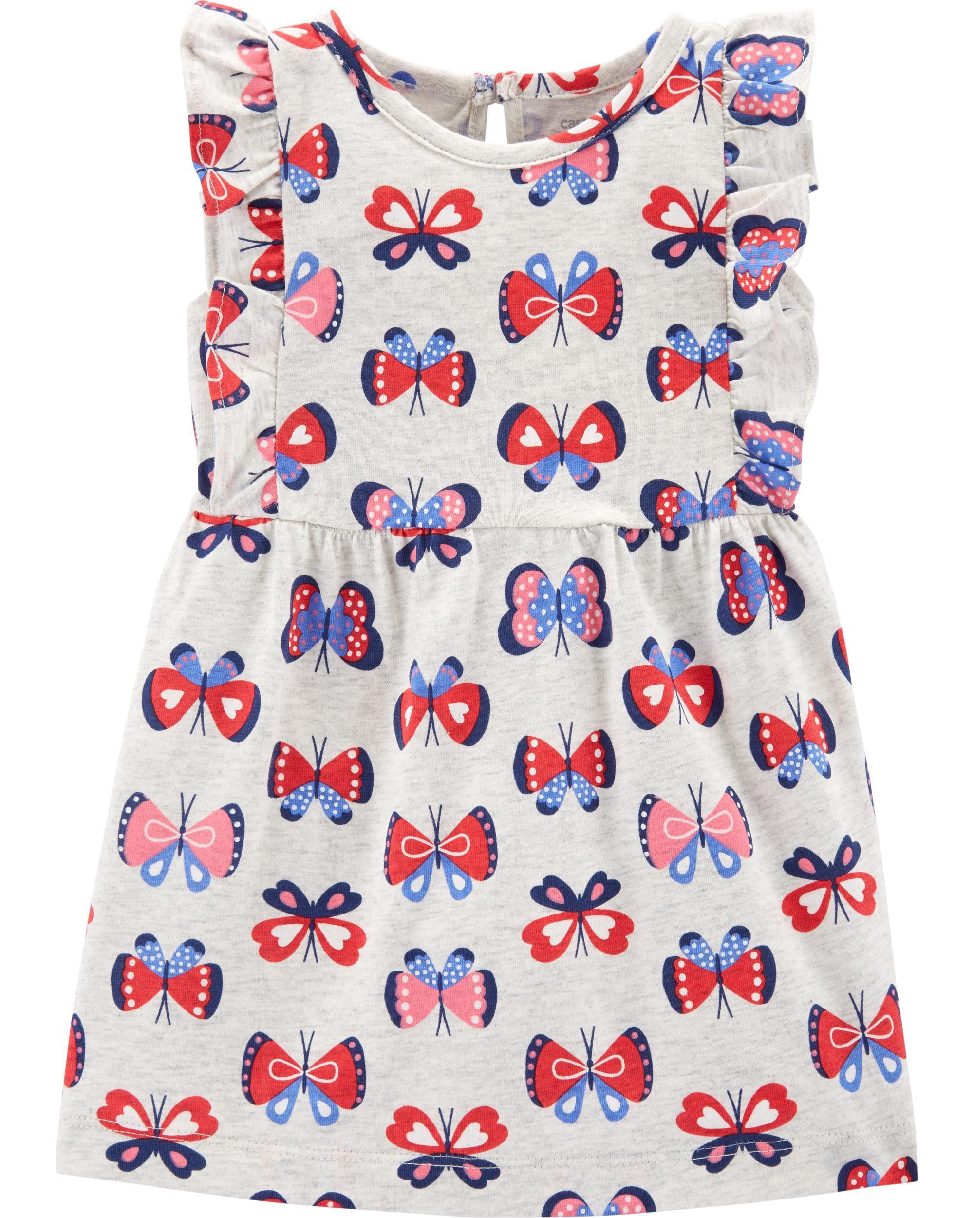 *Clearance*  Butterfly Jersey Dress