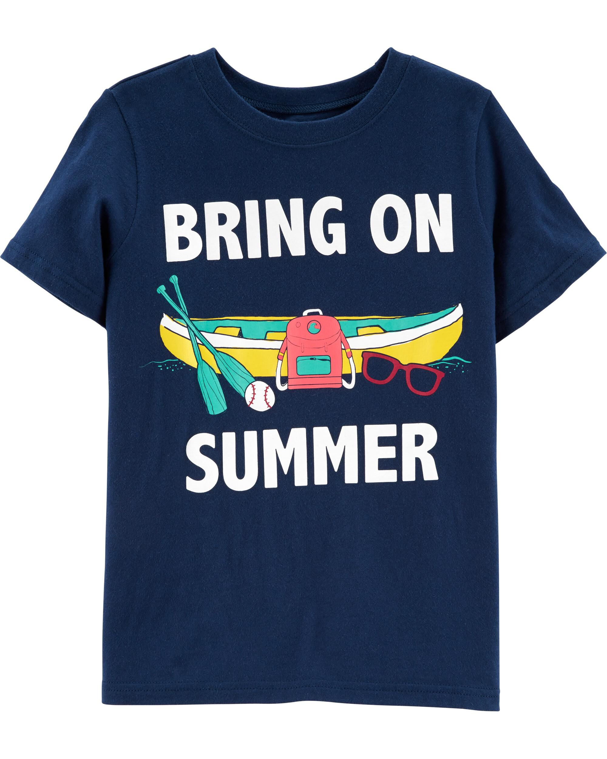 *Clearance*  Bring On Summer Jersey Tee
