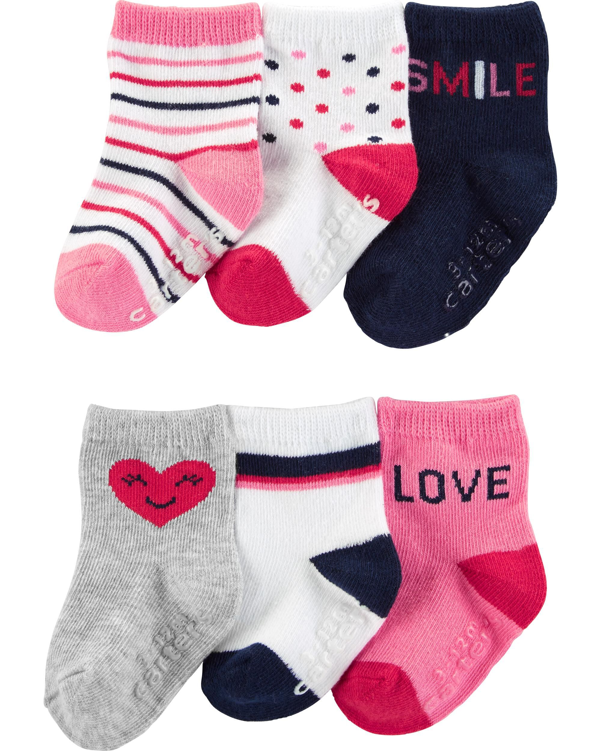 *Clearance*  6-Pack Heart Booties