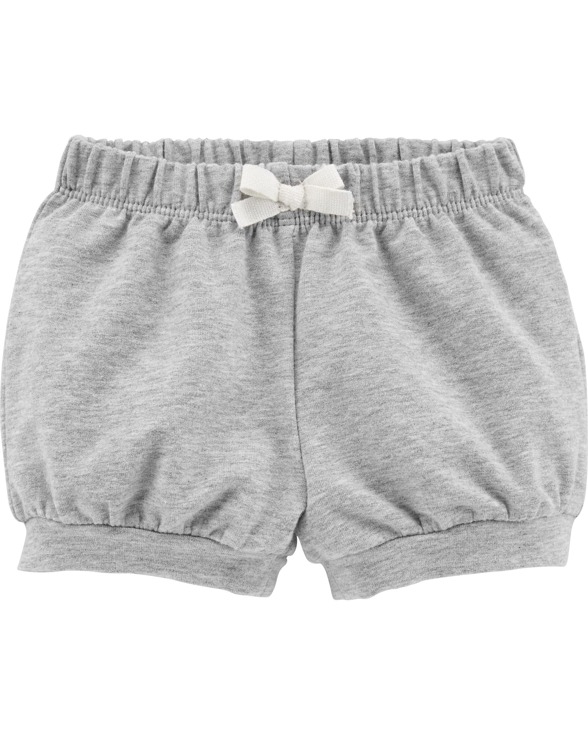 *Clearance*  Pull-On French Terry Bubble Shorts