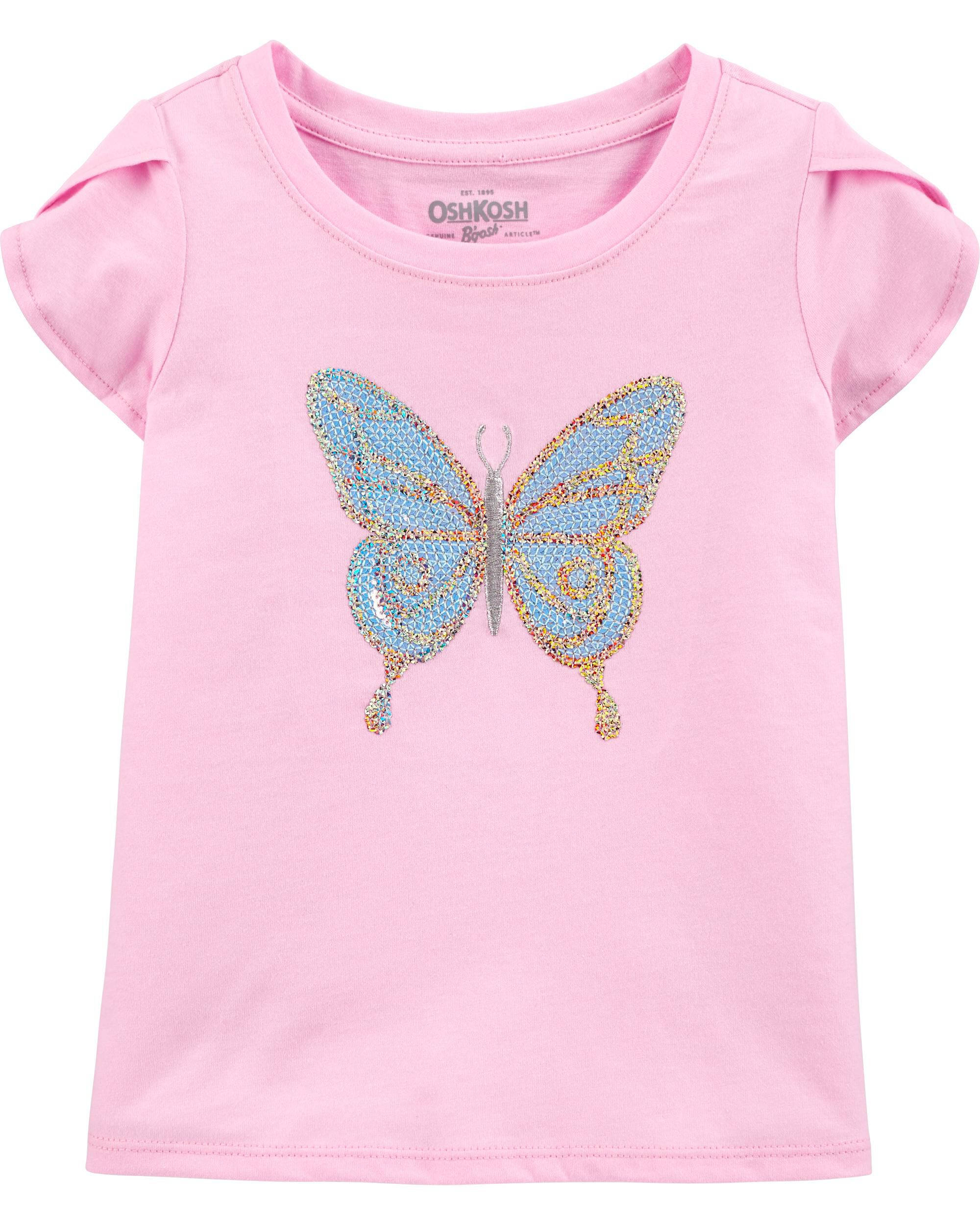 Sequin Butterfly Top