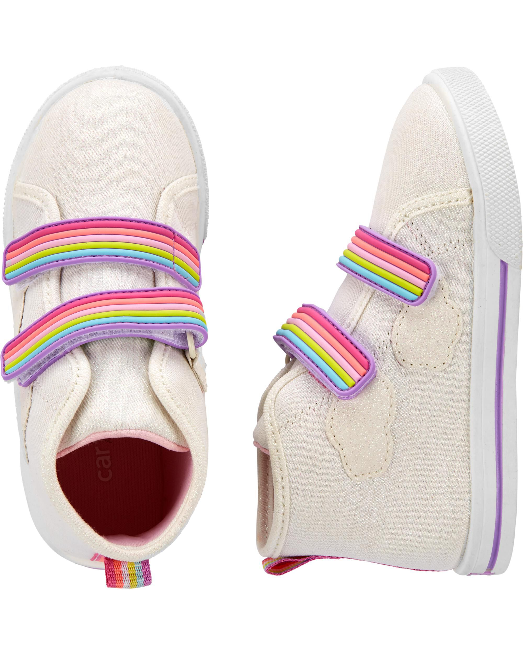 Carter's Rainbow High Top Sneakers