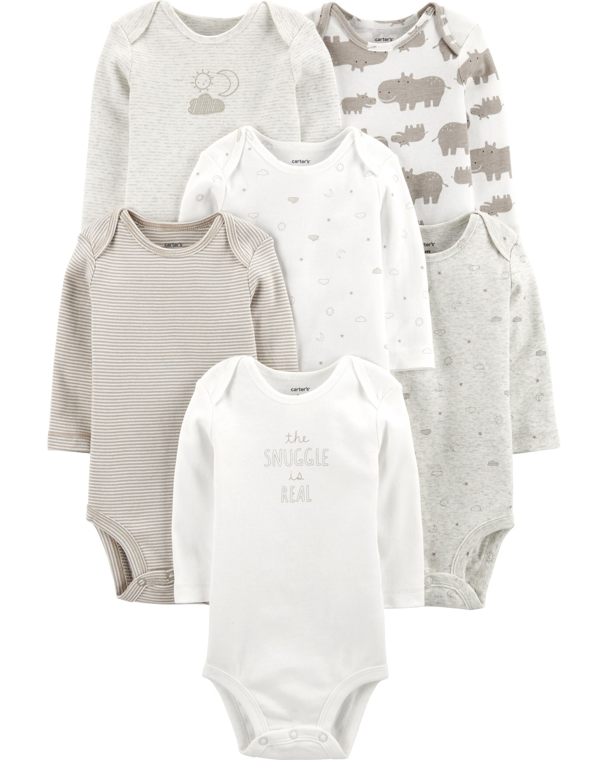6-Pack Sun & Moon Original Bodysuit...