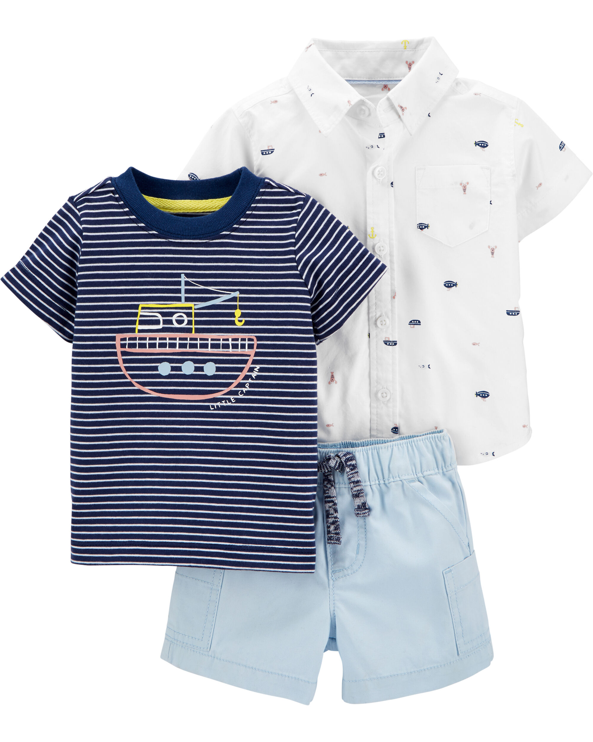 3-Piece Submarine Little Short Set