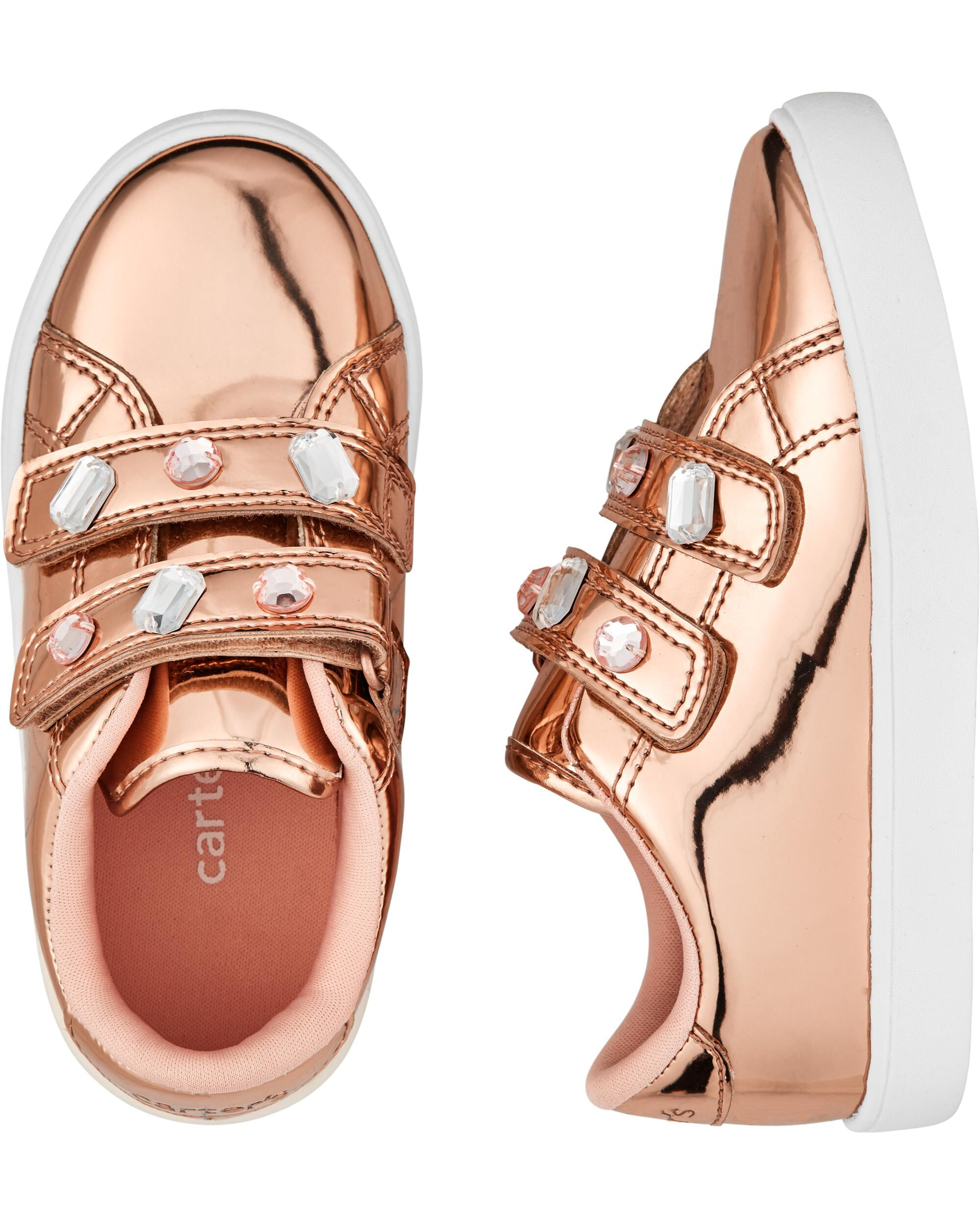 Carter's Metallic Casual Sneakers