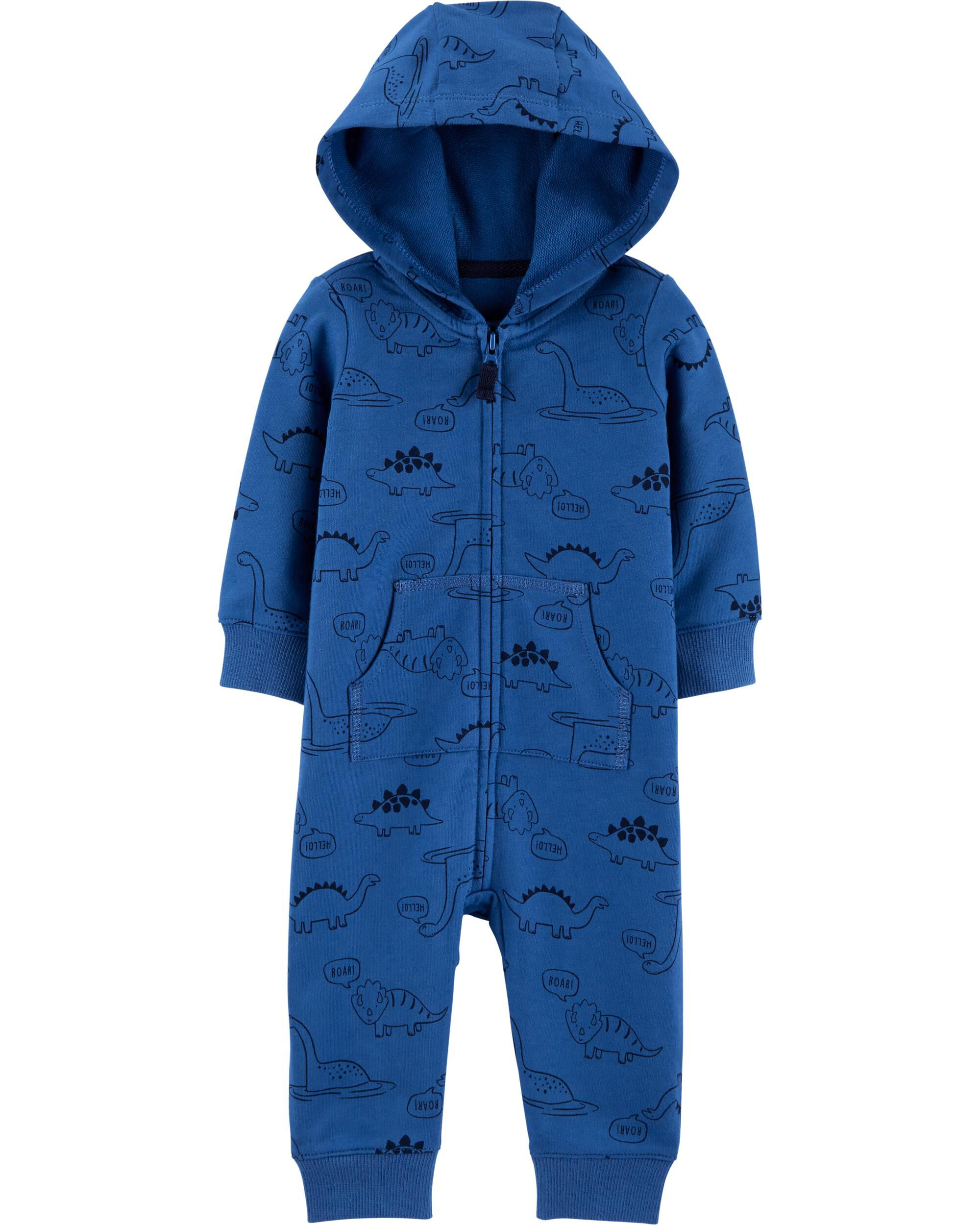 Hooded Dinosaur Jumpsuit