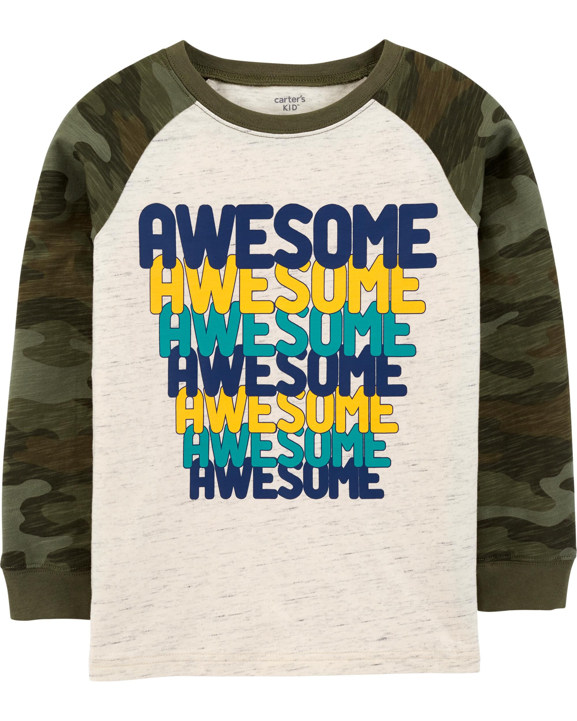 Awesome Raglan Jersey Tee