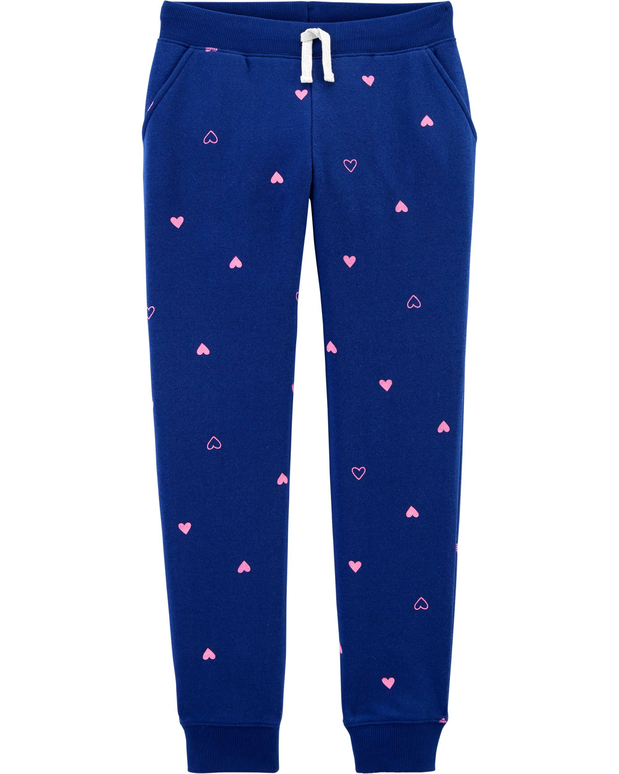Heart Fleece Pants